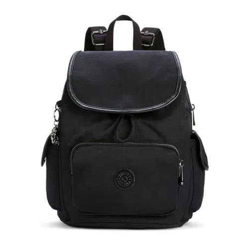 Mochila City Pack S - Rich Black - Kipling