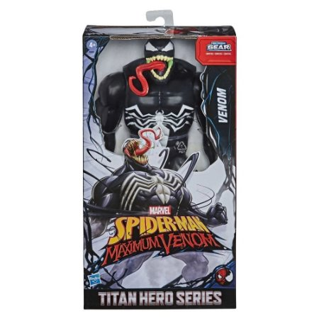 Boneco Articulado Venom Blast Gear - Hasbro