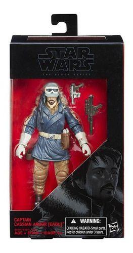 Figuras 15cm - Star Wars The Black Series - Capitain Cassian Andor