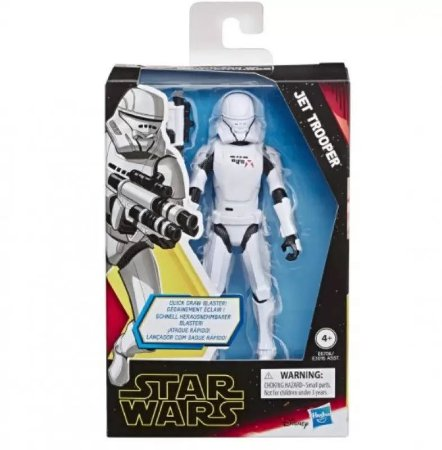 Figuras 12cm - Star Wars Galaxy of Adventures - Jet Trooper