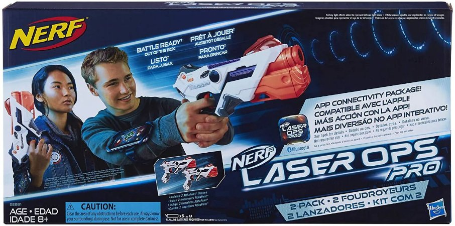 NERF LASER OPS TWO PACK E2281