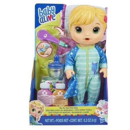 BABY ALIVE APRENDENDO A CUIDAR LOIRA E6937