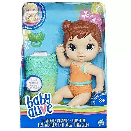 BABY ALIVE LINDA CAUDA MORENA E5851