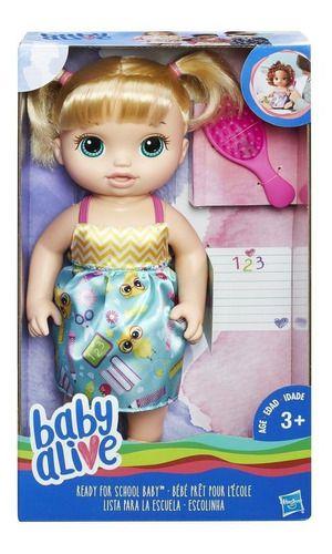BABY ALIVE ESCOLINHA B7223 LOIRA