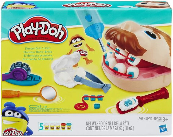 PLAY DOH PLAYSET DENTISTA B5520