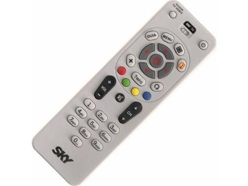 Controle SKY Livre E Digital Universal RC64SW - Original