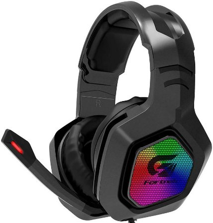 HEADSET FORTREK G BLACK HAWK RGB GAMER 70530