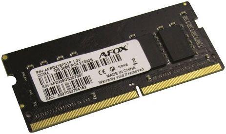 MEMÓRIA NOTEBOOK 8GB 2666MHZ DDR4 AFOX