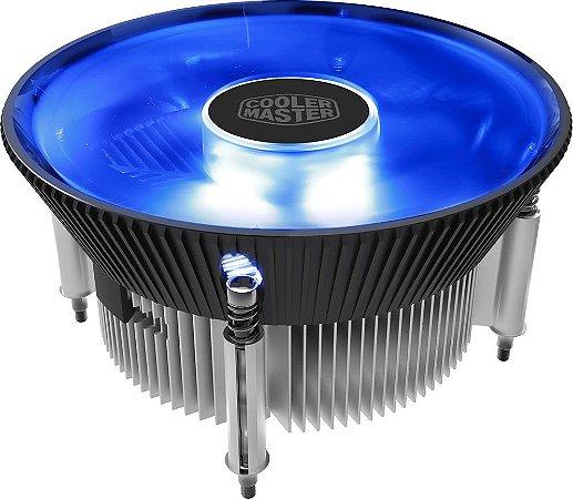 COOLER PROCESSADOR COOLER MASTER I70C LED AZUL RR-I70C-20PK-R1