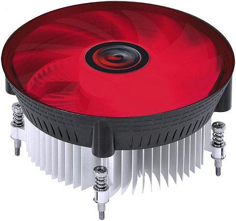 COOLER PROCESSADOR PCYES NÓTUS I300 LED RED PAC120PRLV