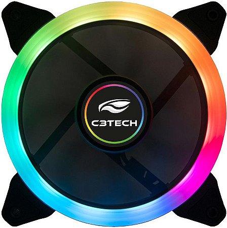 COOLER FAN C3TECH 120MM RGB F7-L200RGB