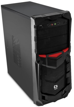 GABINETE C3TECH GAMER MT-G50BK