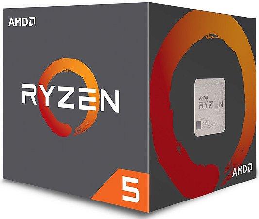 PROCESSADOR AMD RYZEN 5 2600X 3.6GHZ 19MB CACHE AM4