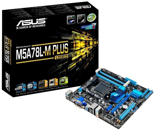 PLACA MÃE ASUS M5A78L-M PLUS/USB3 DDR3 AM3+