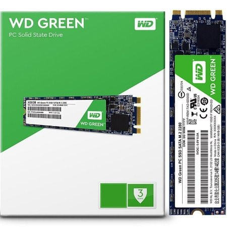 SSD WD GREEN 240GB M.2 2280 WDS240G2G0B