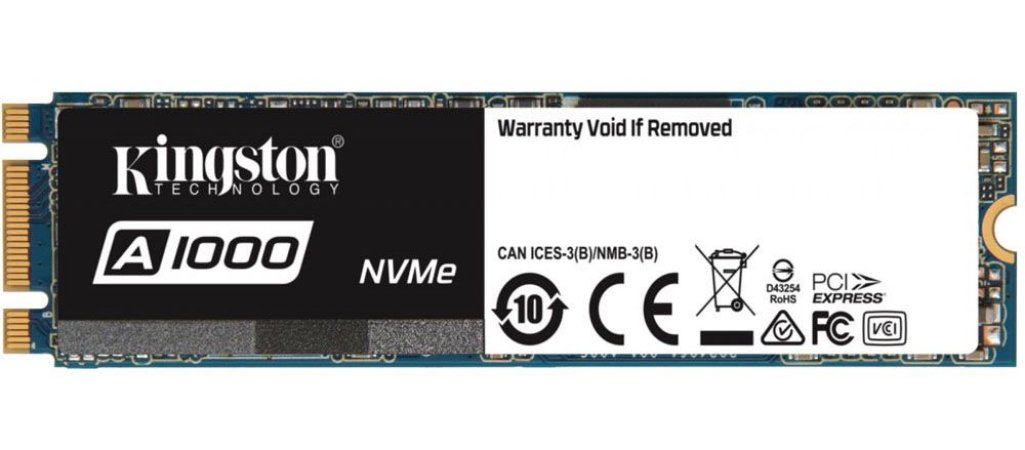 SSD KINGSTON A1000 480GB M.2 2280 SA1000M8/480GB