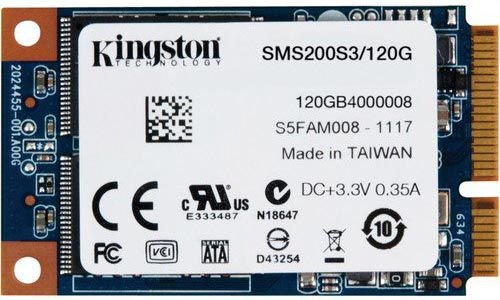 SSD KINGSTON 120GB SSDNOW MSATA SATA III SMS200S3/120G