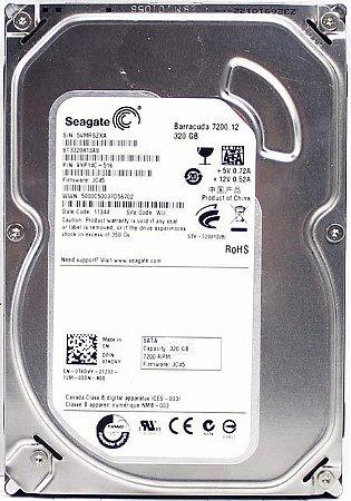 HD DESKTOP SEAGATE PIPELINE 320GB 5900RPM ST3320311CS