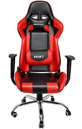 CADEIRA GAMER MYMAX MX7 MGCH-002/RD