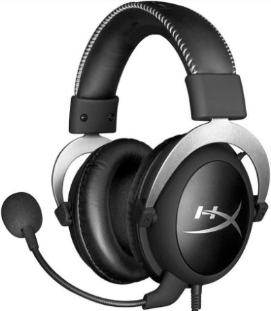 HEADSET HYPERX CLOUD SILVER GAMER HX-HSCL-SR