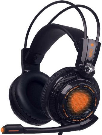 HEADSET OEX EXTREMOR 7.1 BLACK GAMER HS400