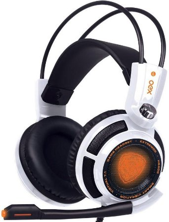 HEADSET OEX EXTREMOR 7.1 WHITE GAMER HS400