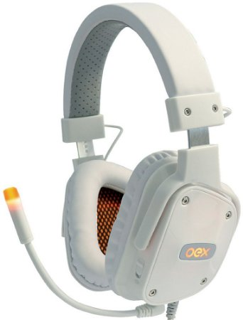 HEADSET OEX SHIELD 7.1 WHITE GAMER HS409