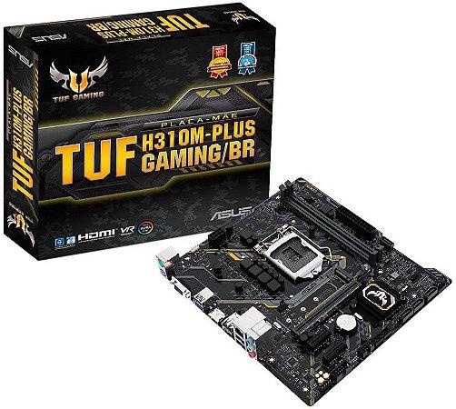 PLACA MÃE INTEL ASUS TUF H310M-PLUS GAMING/BR DDR4 LGA1151