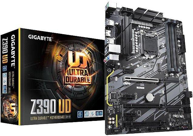 PLACA MÃE GIGABYTE Z390 UD DDR4 LGA1151
