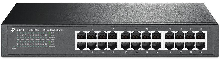 SWITCH TP-LINK 24 PORTAS 10/100/1000MBPS GIGABIT TL-SG1024D