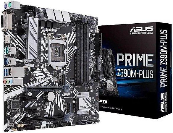 PLACA MÃE ASUS PRIME Z390M-PLUS DDR4 LGA1151