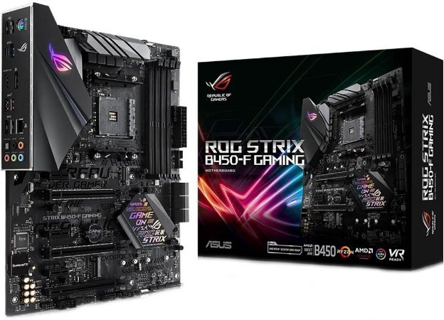PLACA MÃE AMD ASUS ROG STRIX B450-F GAMING DDR4 AM4