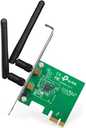 ADAPTADOR WIRELESS TP-LINK 300MBPS PCIE TL-WN881ND