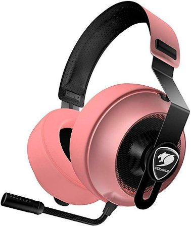 HEADSET COUGAR PHONTUM ESSENTIAL PINK GAMER CGR-P40NP-150