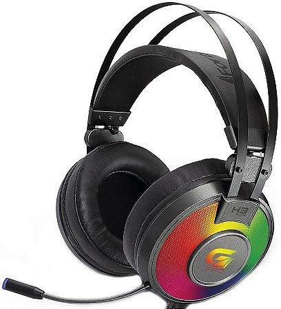 HEADSET FORTREK G PRO H3 PLUS 7.1 RGB GAMER 65907
