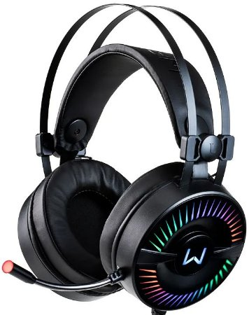 HEADSET MULTILASER WARRIOR FLAMMA RGB GAMER PH306