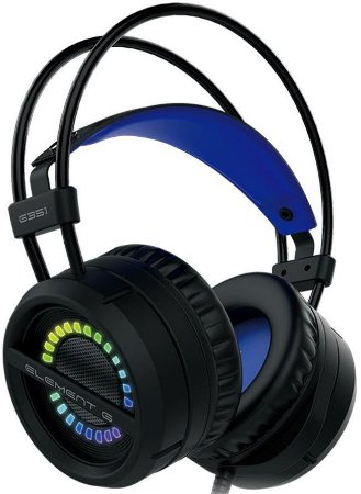 HEADSET ELEMENT G 7.1 RGB GAMER G351