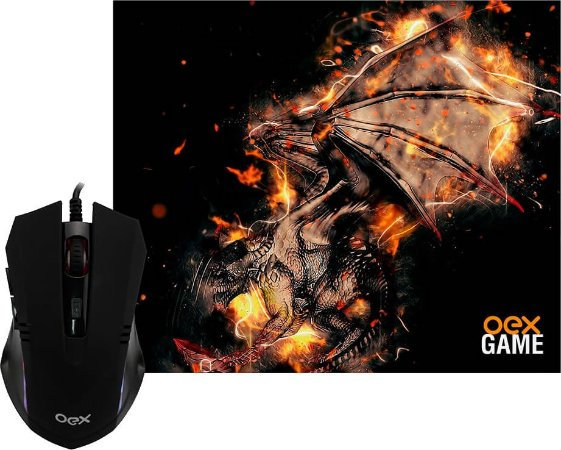 COMBO ARENA OEX MOUSE 2400DPI + MOUSEPAD 290X230MM MC102
