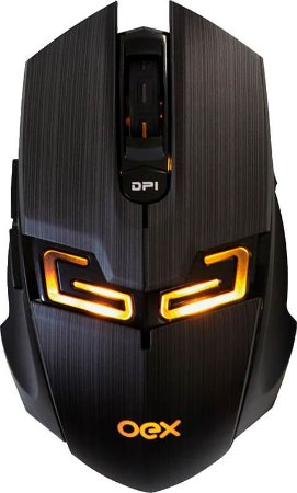 MOUSE GAMER OEX KILLER MS312 4000DPI
