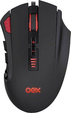 MOUSE GAMER OEX STRIKE MS315 10000DPI