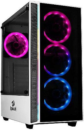 GABINETE REDRAGON GRAPPLE RGB GC-607WH