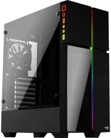 GABINETE AEROCOOL PLAYA RGB - 01 COOLER INCLUSO
