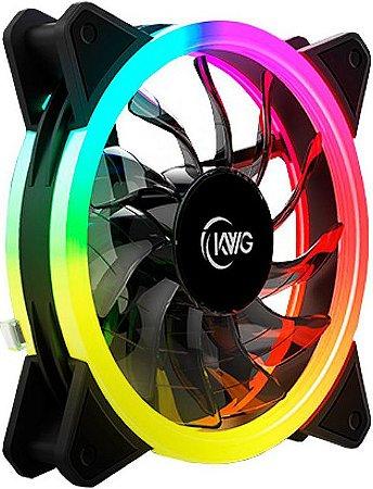 COOLER FAN KWG GEMINI 120MM RGB E1-1201