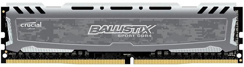 MEMÓRIA DESKTOP CRUCIAL BALLISTIX 4GB 2666MHZ DDR4