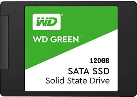 SSD WD GREEN 120GB SATA III WDS120G2G0A
