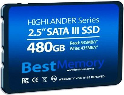 SSD BEST MEMORY 480GB HIGHLANDER SATA III BT-480-535