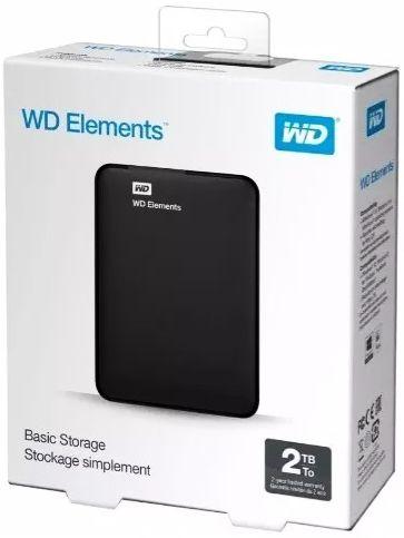 HD EXTERNO 2TB WD ELEMENTS USB 3.0 WDBU6Y0020BBK