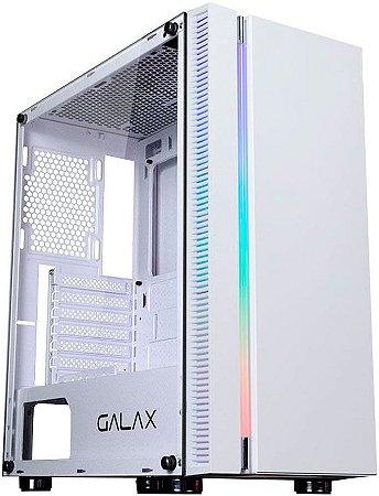 GABINETE GALAX QUASAR GX600-WH RGB GAMER - SEM COOLERS