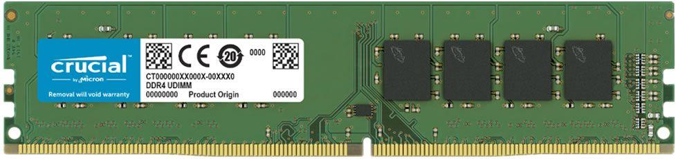 MEMÓRIA DESKTOP CRUCIAL 8GB 2666MHZ DDR4