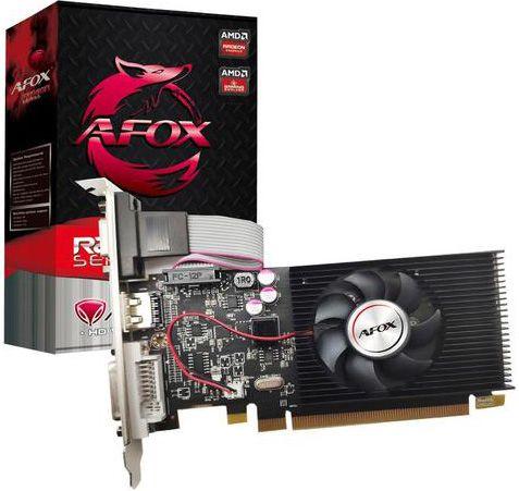 PLACA DE VÍDEO AFOX AMD RADEON R5 220 1GB DDR3 64BITS